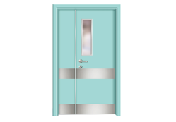 Operating room door manufacturer cannot leave the development of green