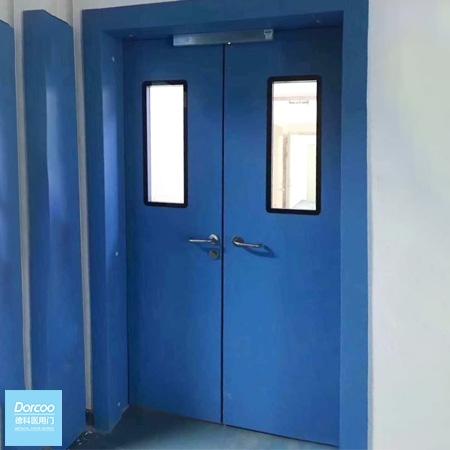 Manual Double Swing Door