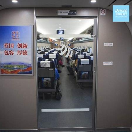 Automatic train door
